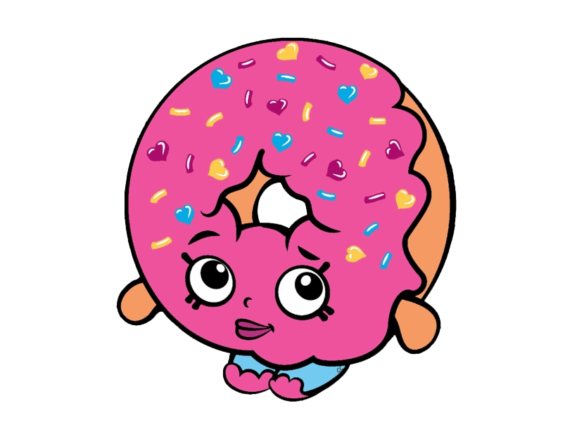 D'lish Donut Shopkins clipart transparent