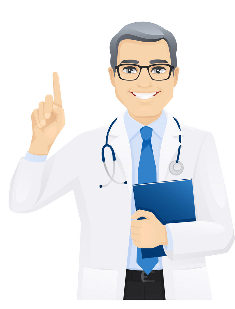 Doctor Smiling clipart