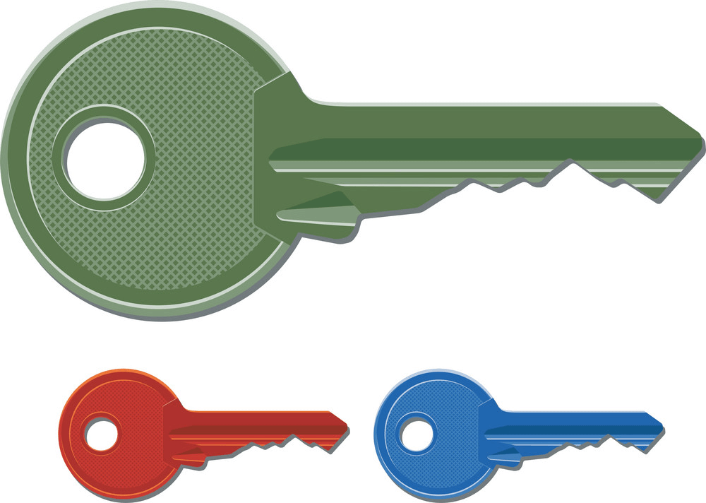 Door Keys clipart