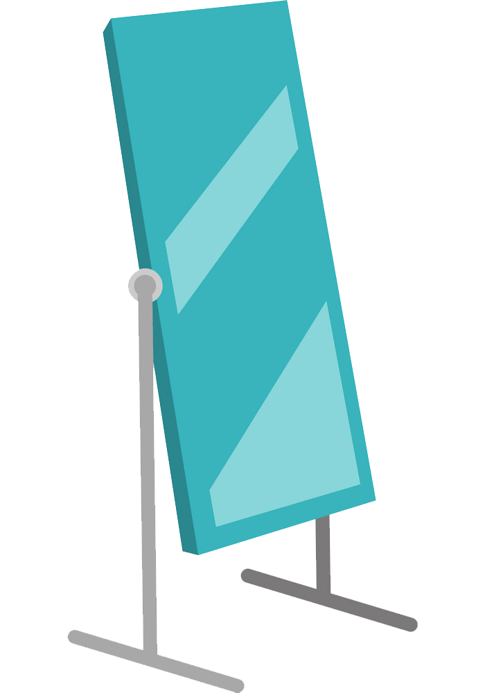 Dressing Mirror clipart transparent