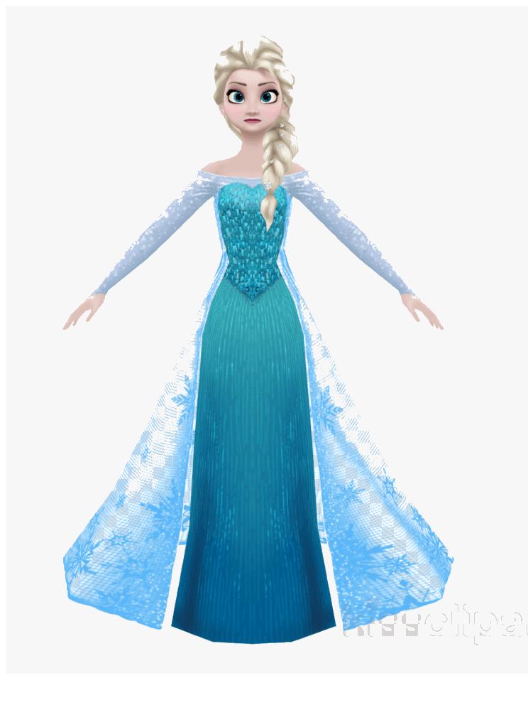 Elsa from Frozen clipart
