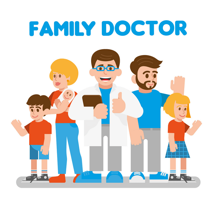 Family Doctor clipart