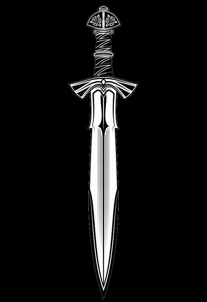 Fantasy Sword clipart transparent
