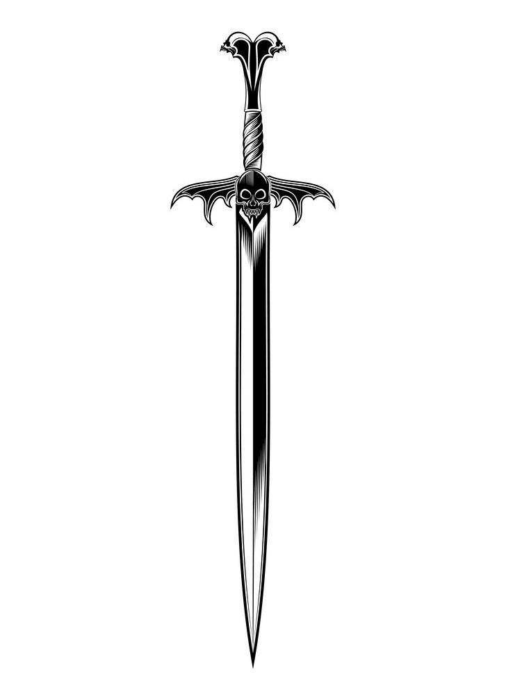Fantasy Sword clipart