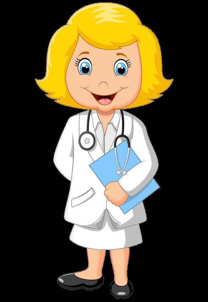 Female Doctor clipart transparent