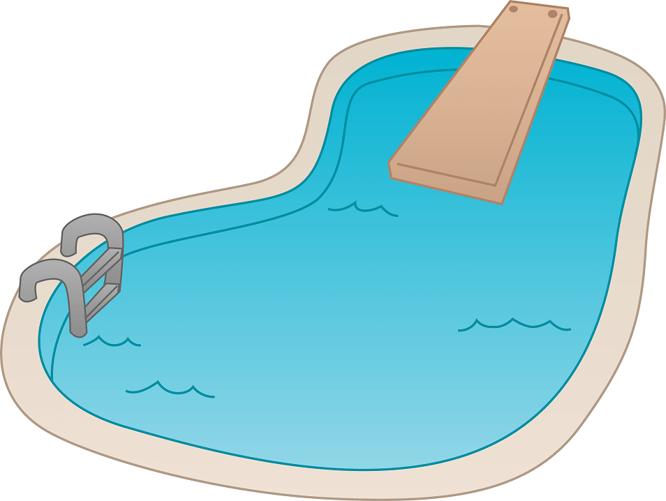 Free Swimming Pool clipart png image