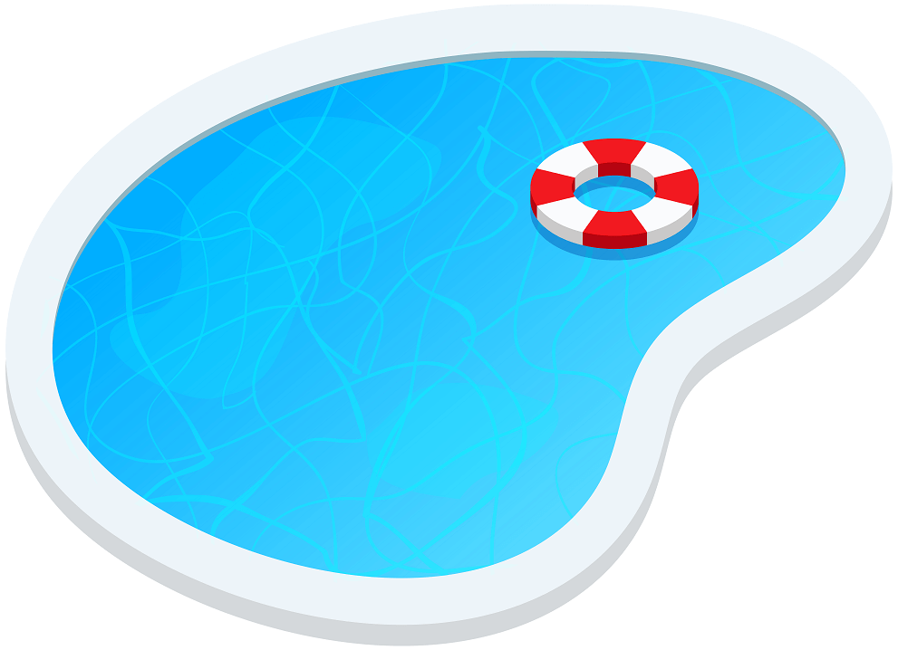 Free Swimming Pool clipart png images