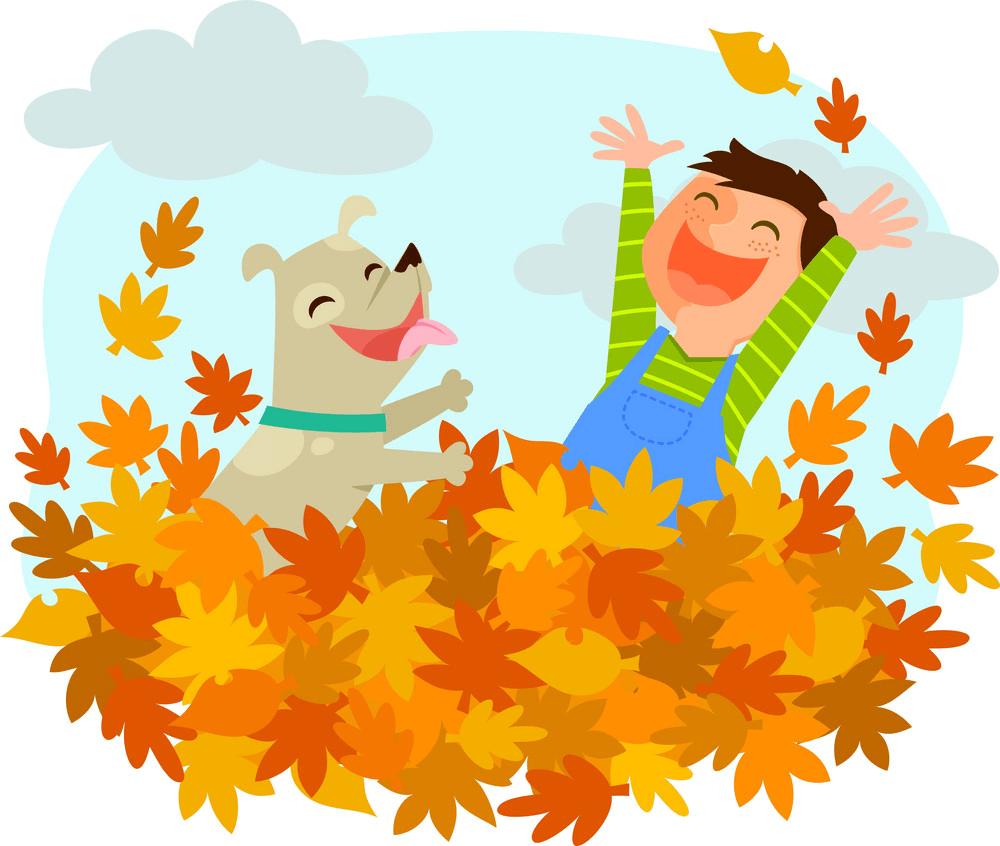 Fun Autumn clipart