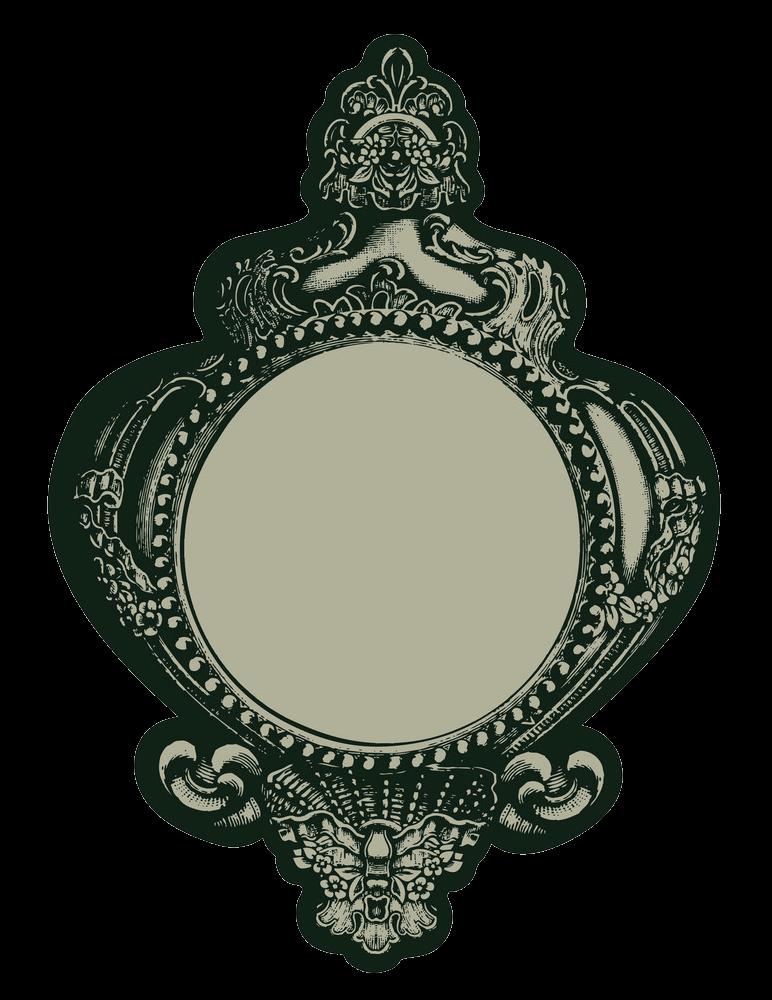 Gothic Mirror clipart transparent