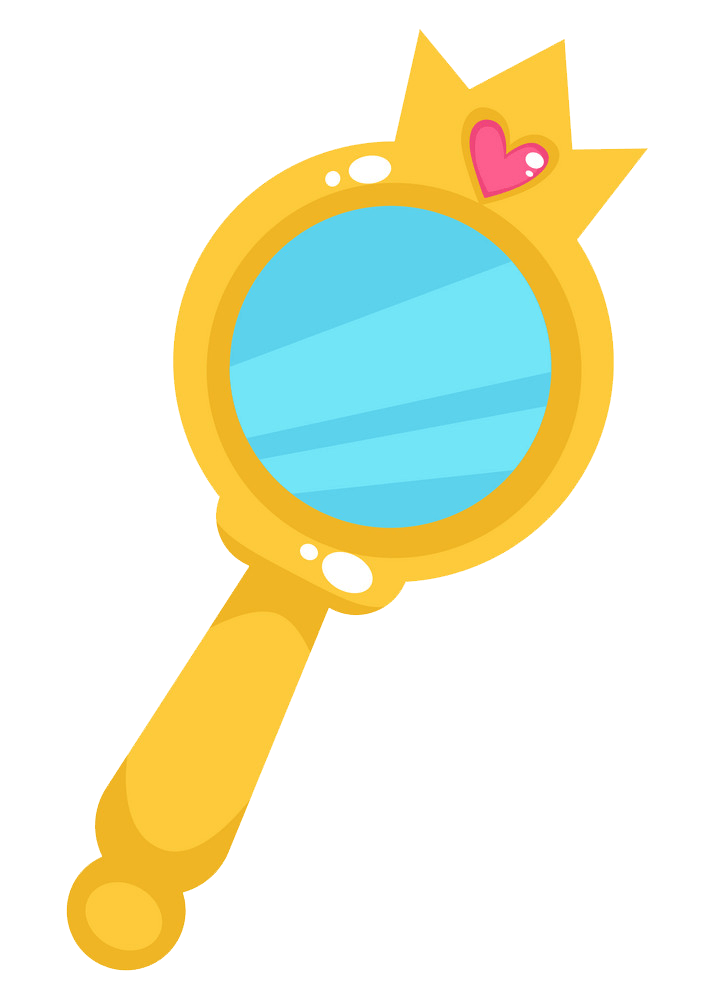 Hand Mirror clipart transparent 1