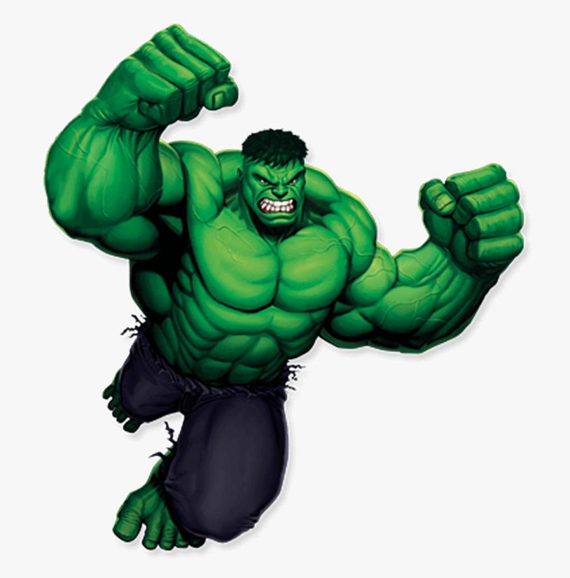 Hulk Attack clipart