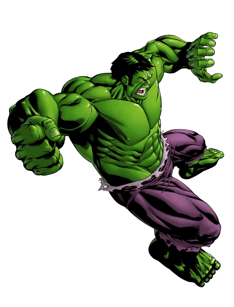 Hulk Fighting clipart transparent