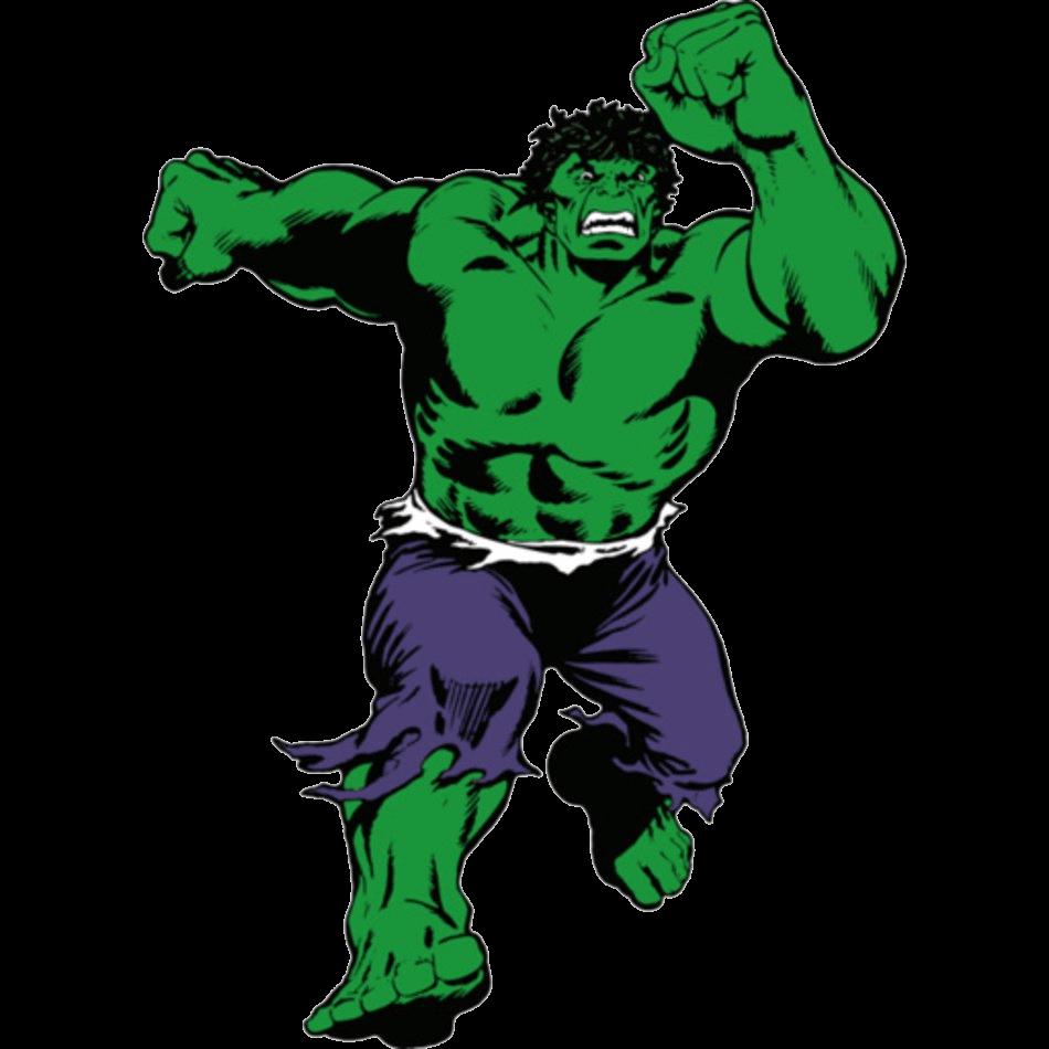 Hulk Running clipart transparent