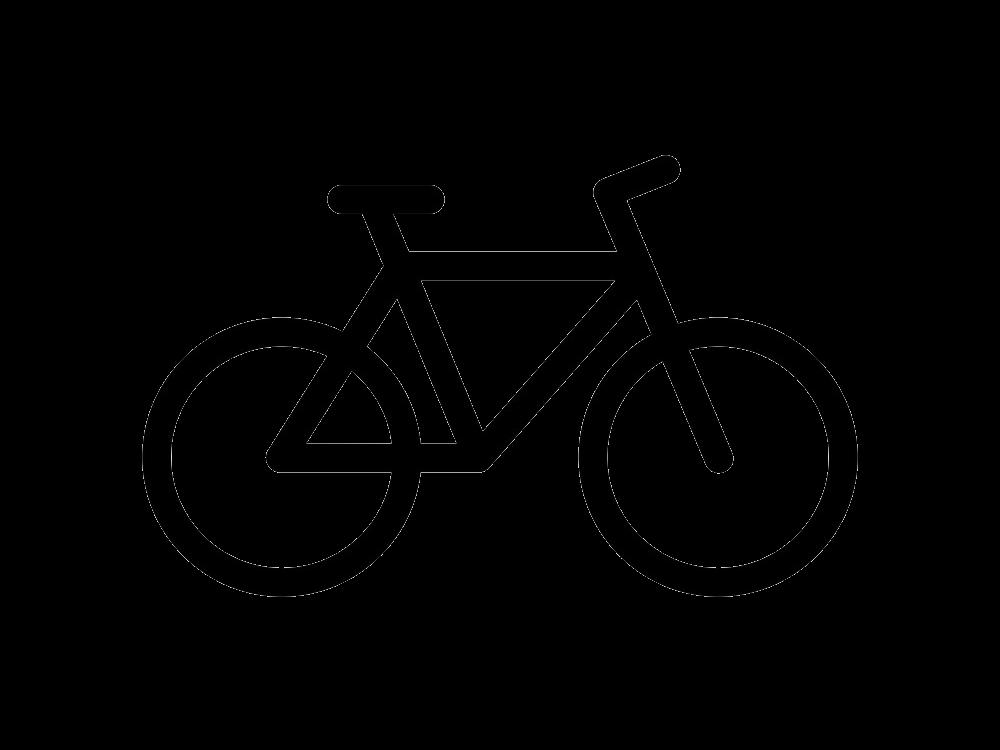 Icon Bike clipart transparent
