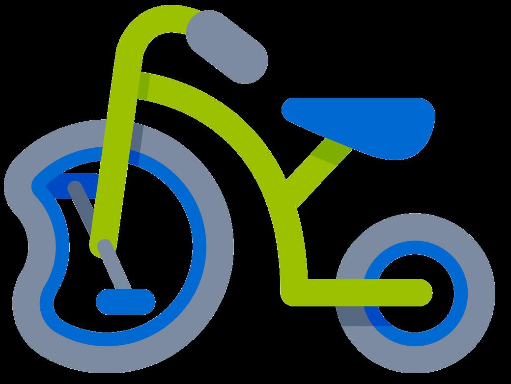 Icon Broken Bike clipart transparent