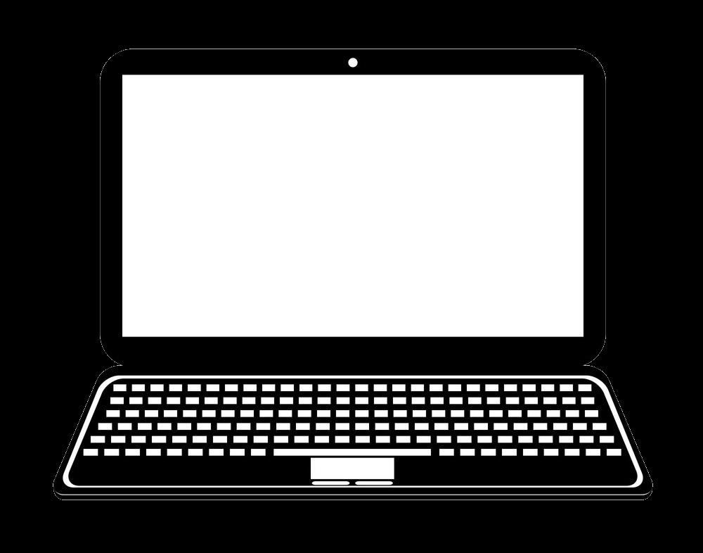 Icon Laptop clipart transparent