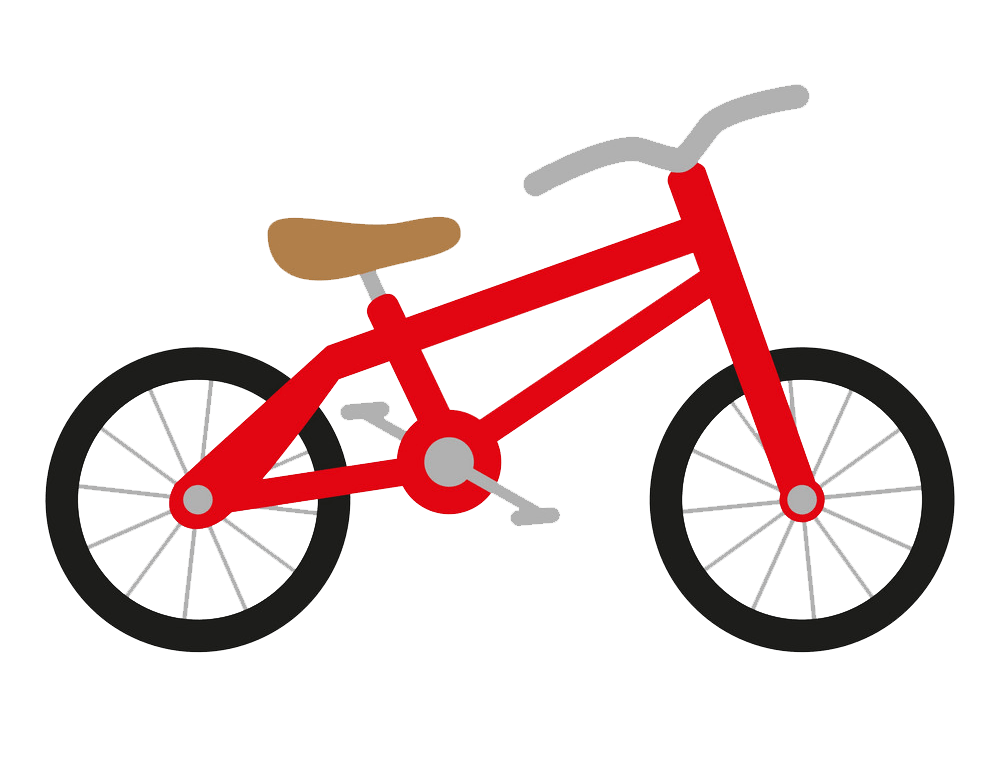 Icon Red Bike clipart transparent