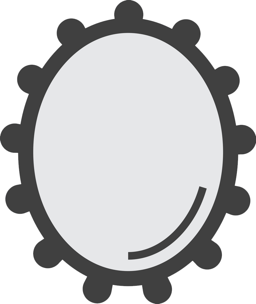 Icon Wall Mirror clipart transparent