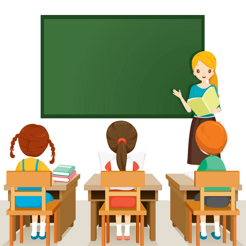 In Classroom clipart