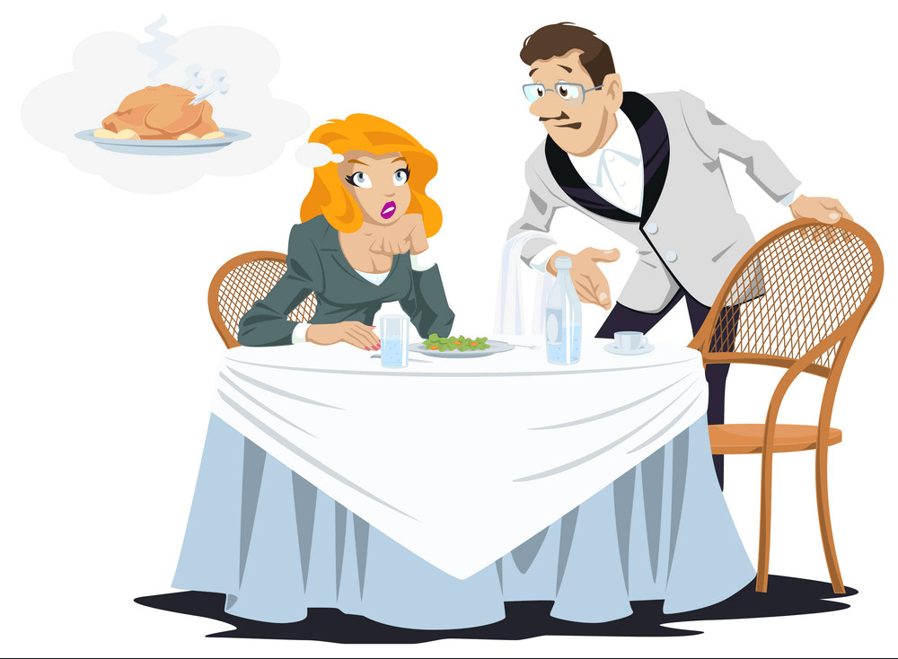 In Restaurant clipart