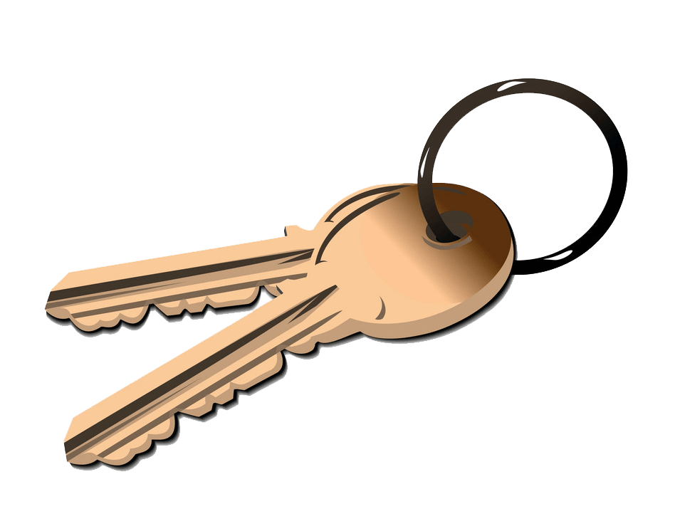 Keys clipart transparent