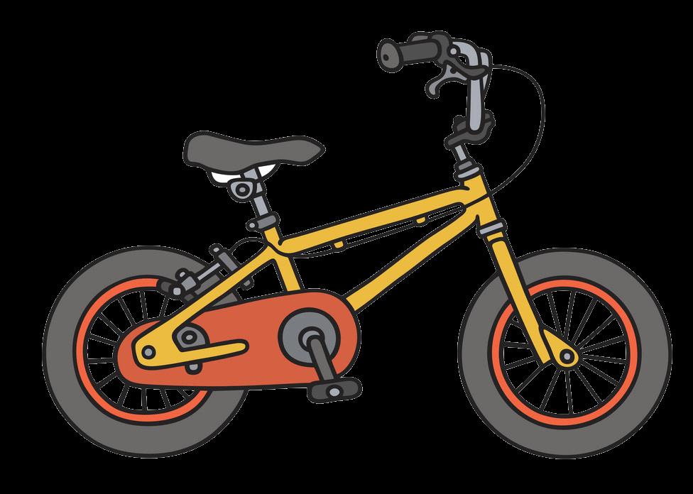 Kid Bike clipart transparent