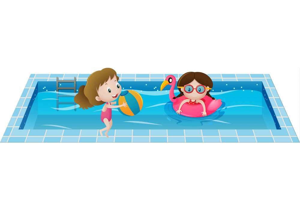 Kids Swimming clipart images
