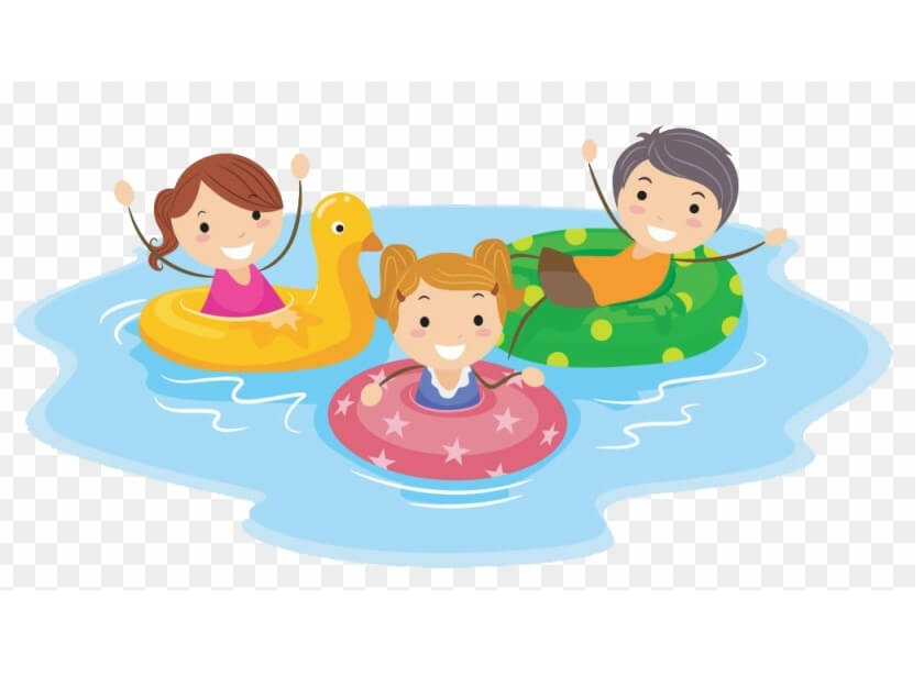 Kids Swimming clipart png images