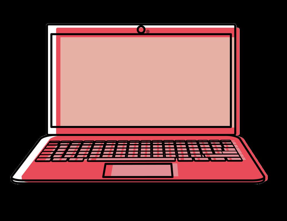 Laptop clipart transparent 1