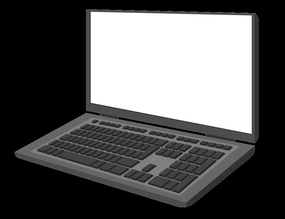 Laptop clipart transparent 3