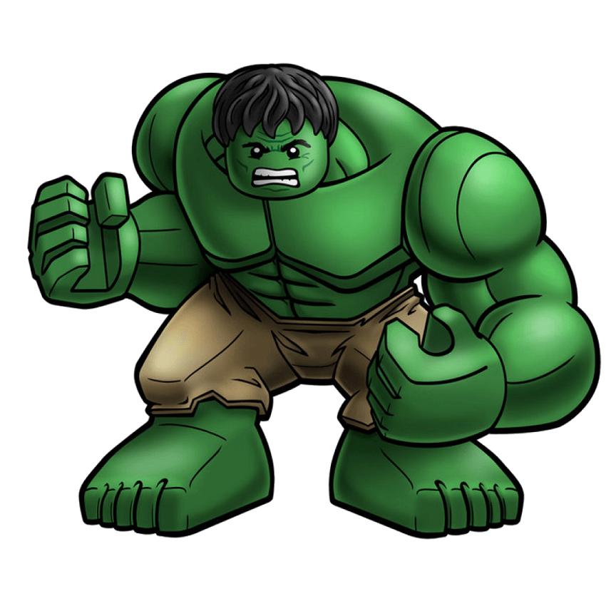Lego Hulk clipart