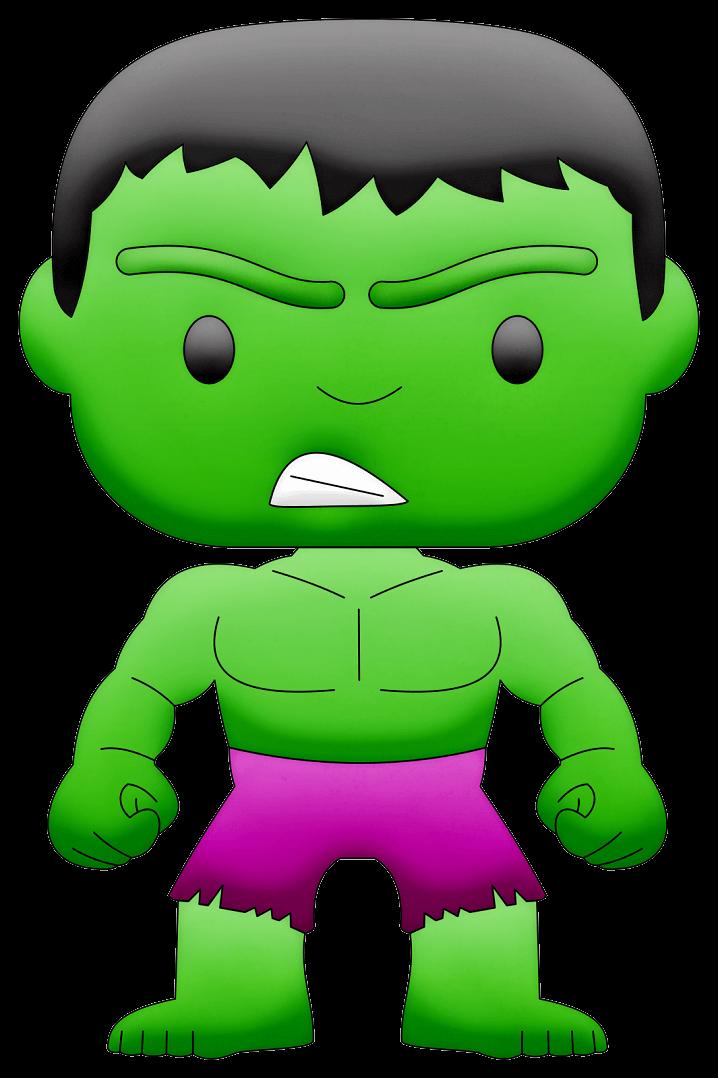Little Hulk clipart transparent