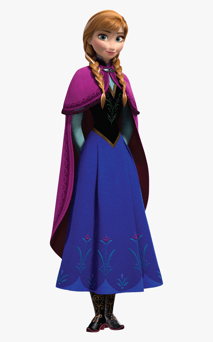 Lovely Anna from Frozen clipart