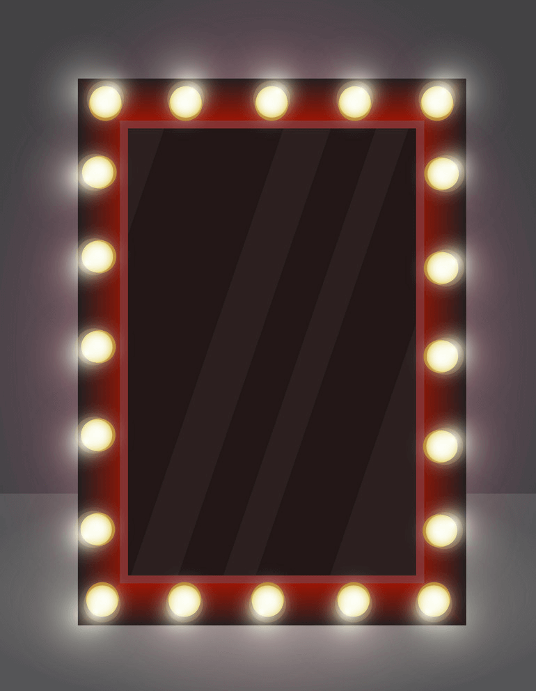 Makeup Mirror clipart 1