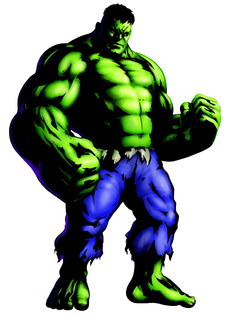 Marvel Hulk clipart transparent