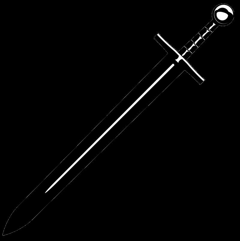 Medieval Sword clipart transparent