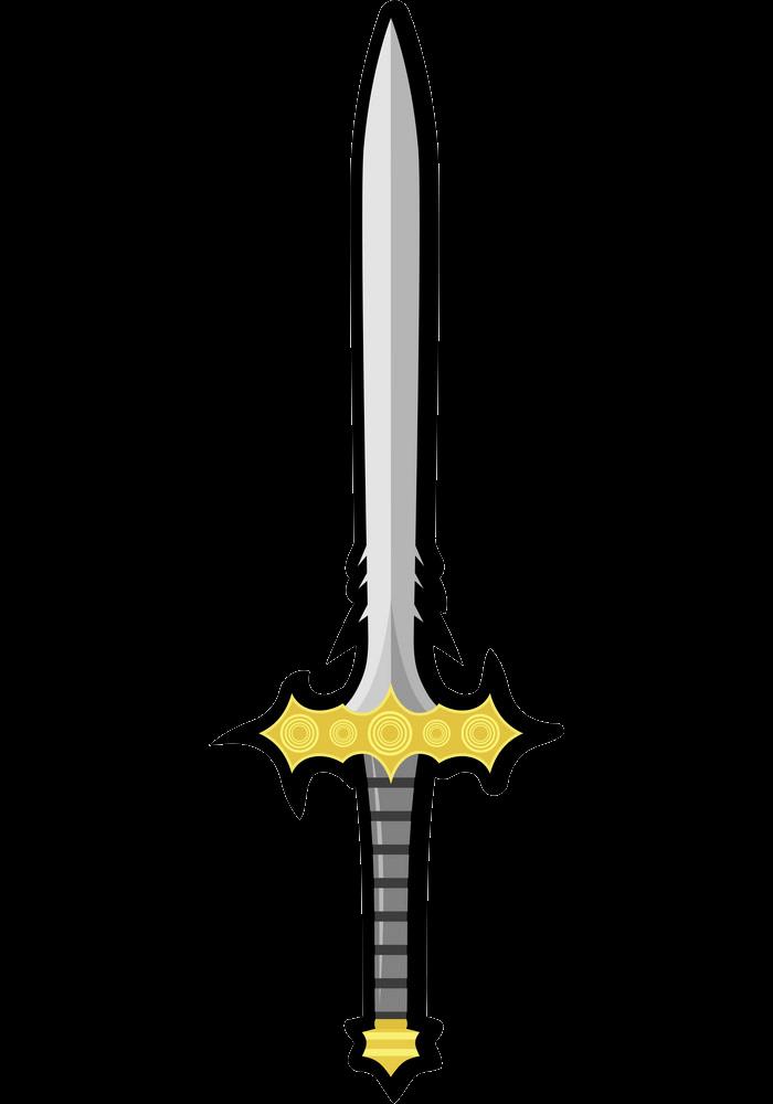 Nice Sword clipart transparent