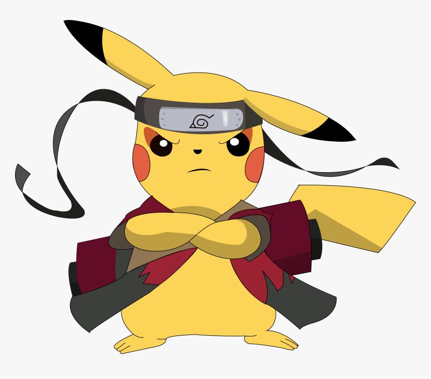 Ninja Pikachu clipart