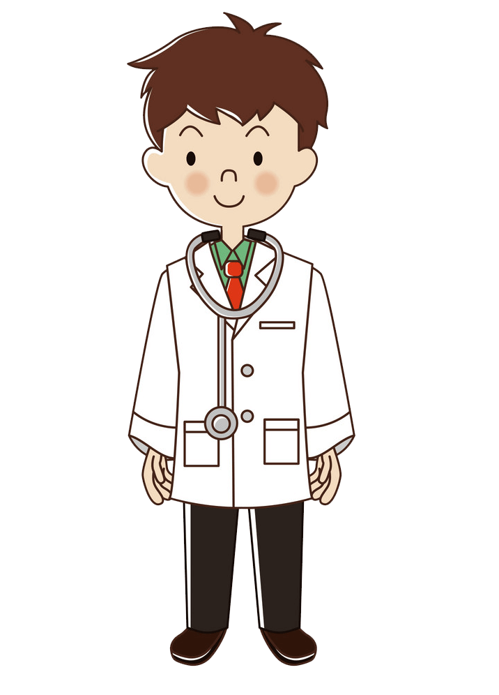 Occupations Doctor clipart transparent