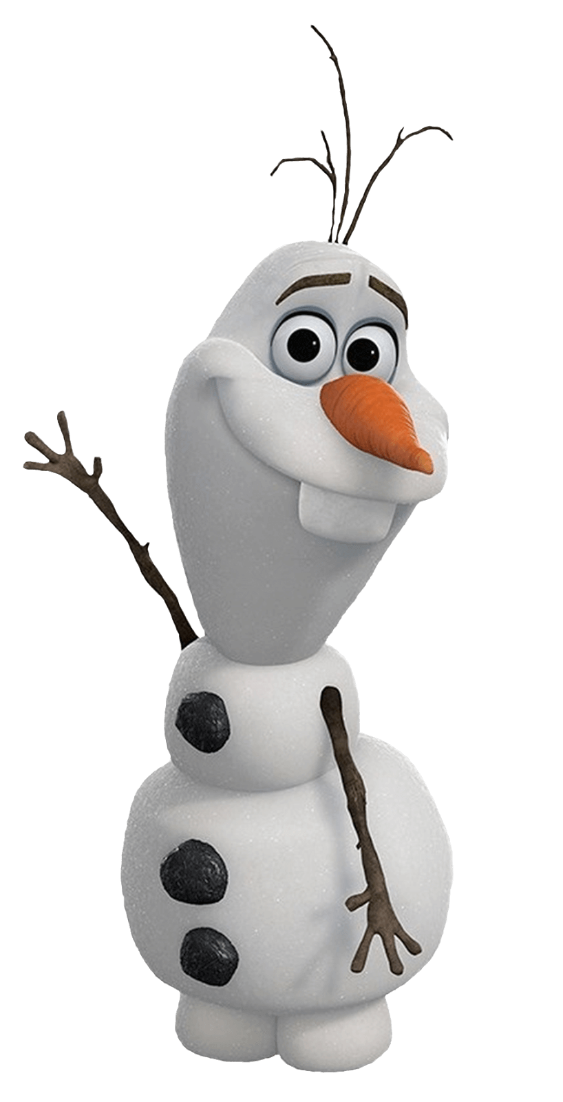 Olaf from Frozen clipart transparent