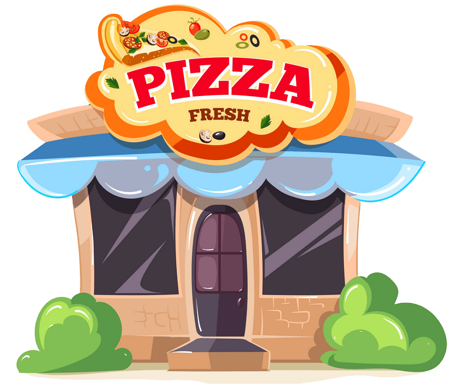 Pizza Restaurant clipart transparent