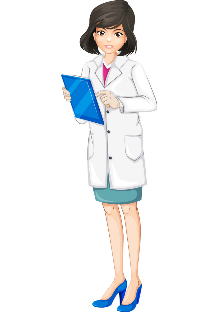 Pretty Doctor clipart