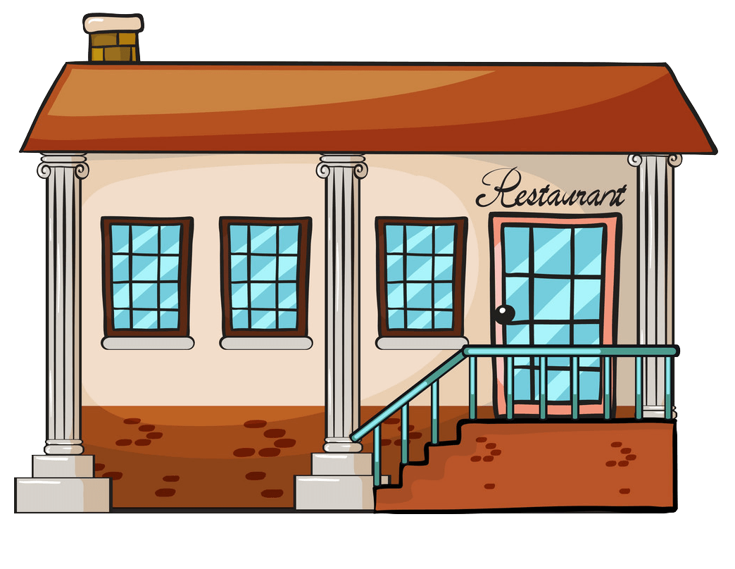 Restaurant clipart transparent 1