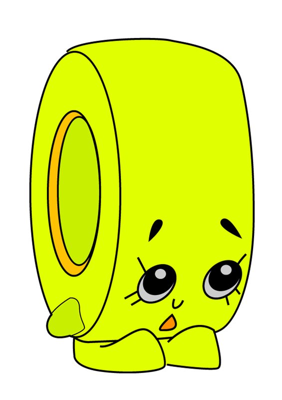 Rolla Tape Shopkins clipart