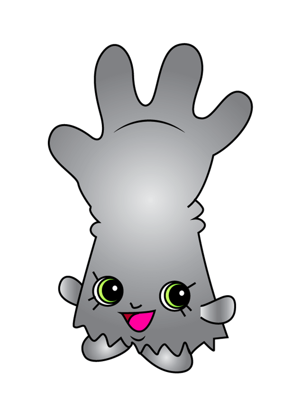 Rub-a-Glove Shopkins clipart