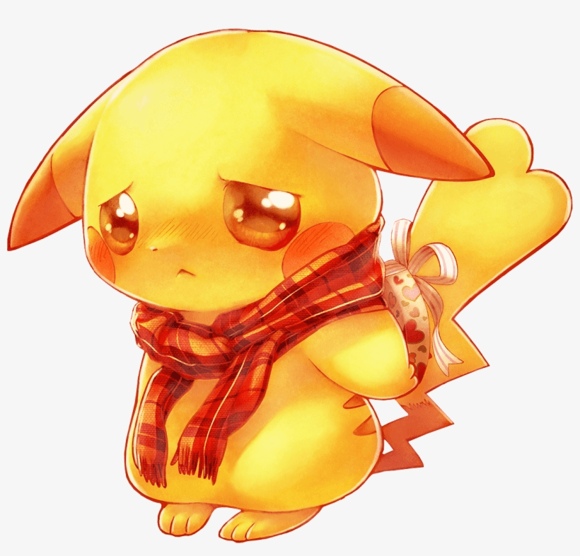 Sad Pikachu clipart