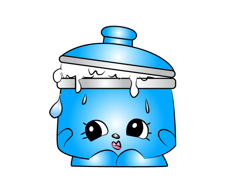Saucy Pan Shopkins clipart