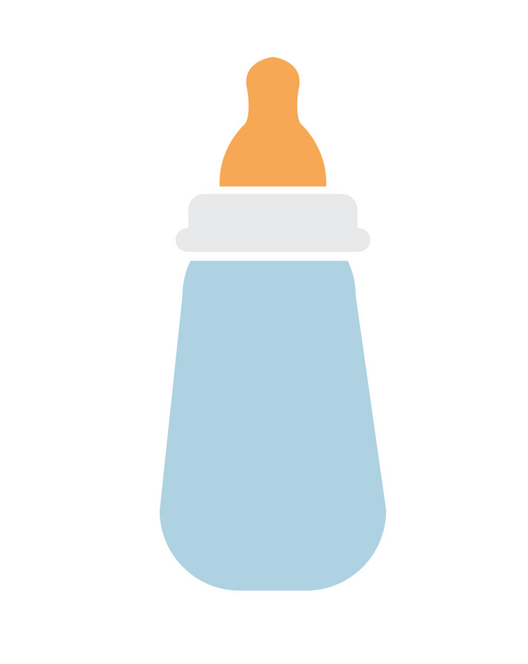 Simple Baby Bottle clipart