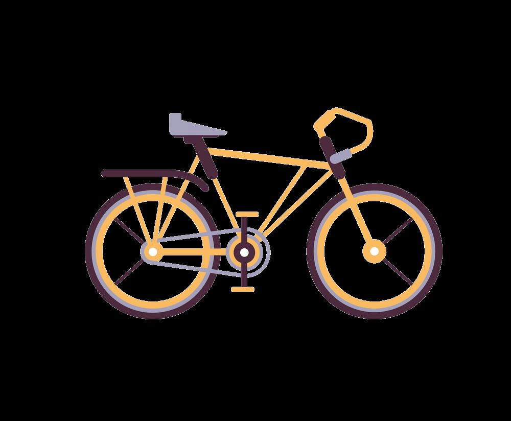 Simple Bike clipart