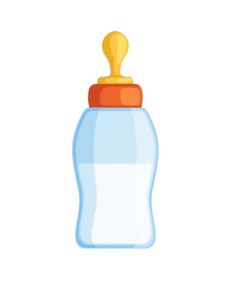 Small Baby Bottle clipart transparent
